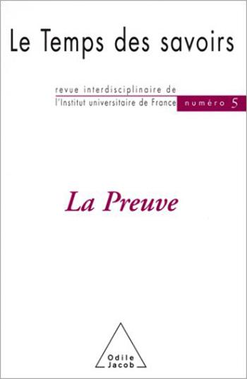 Preuve (La) - N° 5
