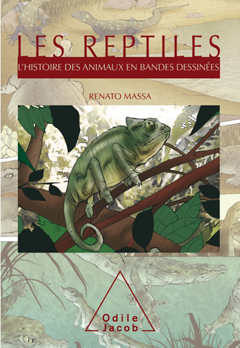 Reptiles (Les) - L'Histoire des animaux en bandes dessinées